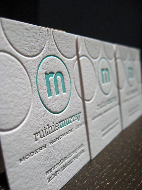 Modern handmade jewelry business card 3 flickr photo for Handmade jewelry business cards