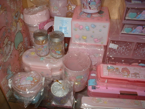 Little Twin Stars Containers, Chest, Cups & Pencil Cases
