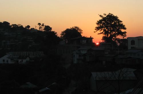 sunrise town state chin mindat