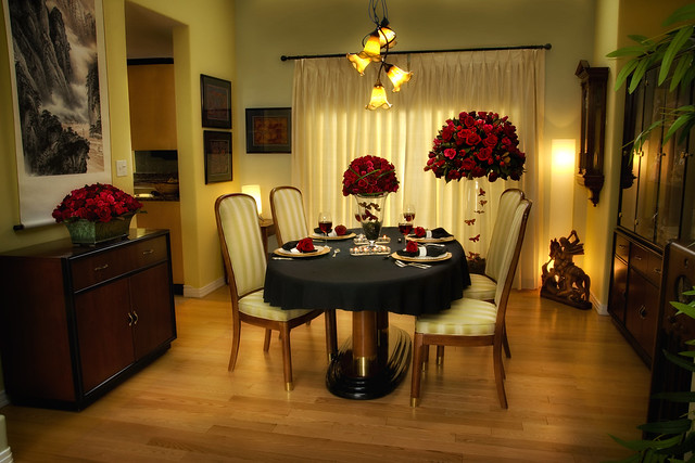 Romantic Dinner at Home - Grower Direct Fresh Flowers Inc. in Edmonton, Alberta.