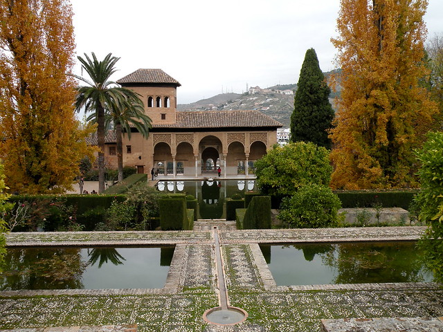 El Partal - Palacios Nazaríes - La Alhambra de Granada ...