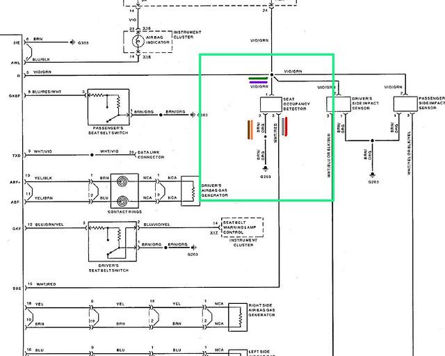 Airbag Wiring Diagram - Occ Sensor