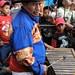 Working in the band - Marimbero en la fiesta del pueblo; Joyabaj, El Quiché, Guatemal