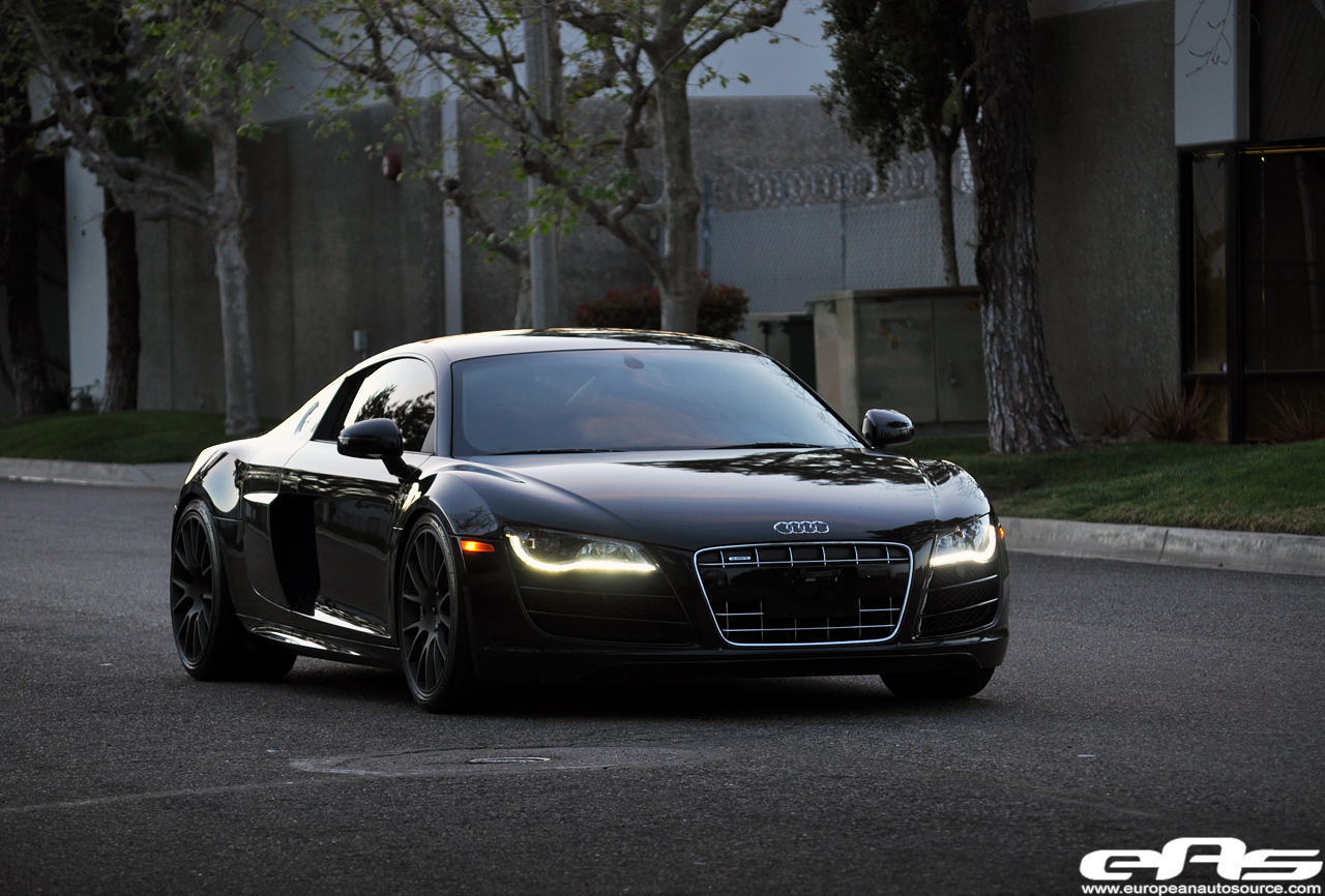 Black Audi R8 V10 | European Auto Source's Blog