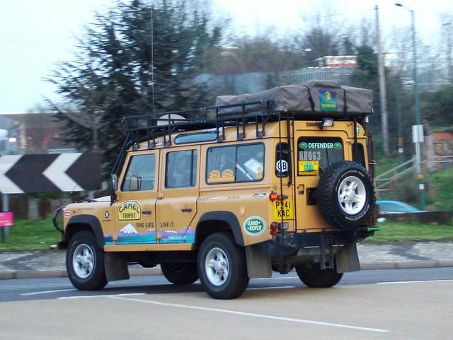Camel Trophy Yellow Paint Colour Rc Car