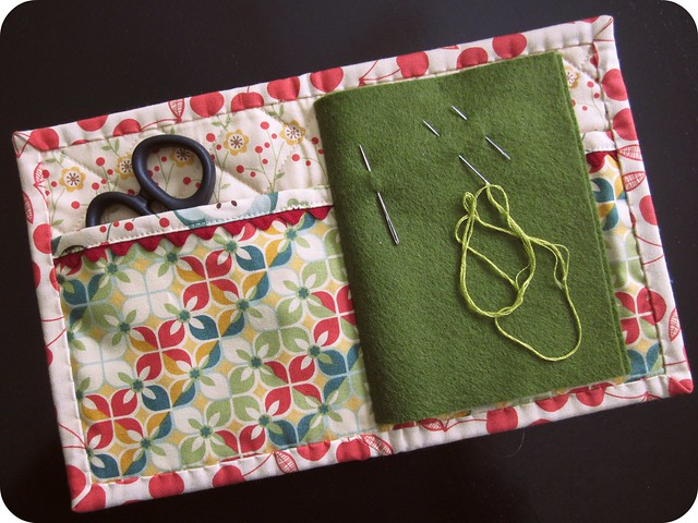 Book Cover Sewing Kits ~ Needle book open flickr photo sharing