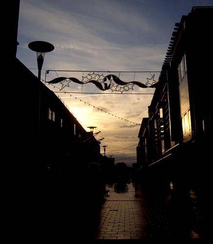 cambridge silhouette sunrise christmasdecorations 2010 burleighstreet