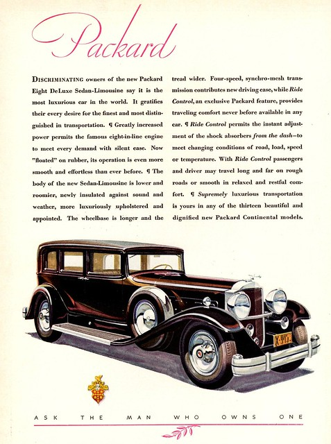 1931 Packard Eight DeLuxe Sedan-Limousine