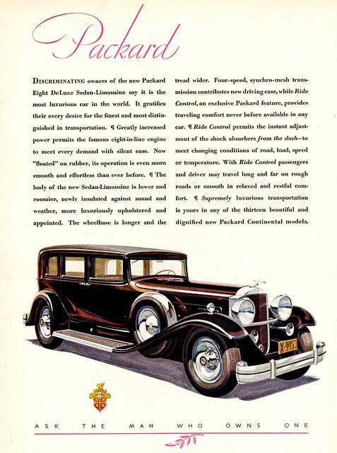 1931 Packard Eight DeLuxe Sedan-Limousine