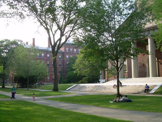 Harvard University by CC user ilamont on Flickr