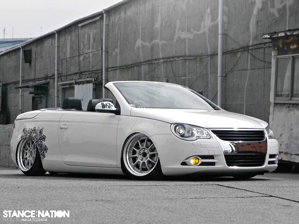 dumped vw eos stancenation form function. Black Bedroom Furniture Sets. Home Design Ideas