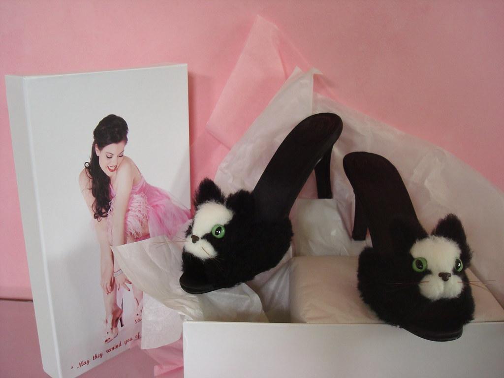 1b343c907a37 ... Streetzie s High Heel Kitten Slippers 12