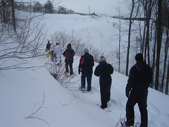Horseshoe Valley snowshoeing