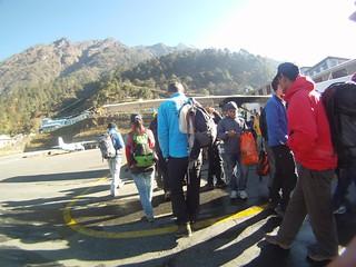 Solukhumbu Trail 2010 Lukla exfiltration