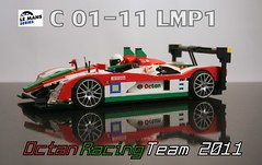 C 01-11 Le Mans Prototype by LegoExotics