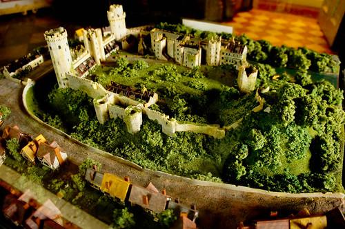 Miniature Warwick Castle