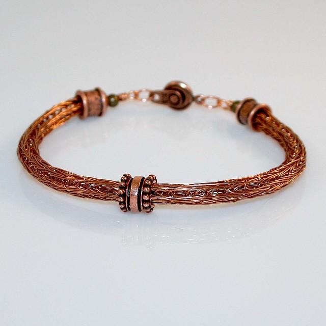 viking knit bracelet flickr photo