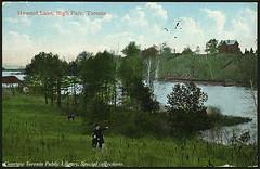 Howard Lake, High Park, Toronto, Ontario, Canada (1910)