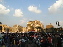 Demonstration in Tahrir Square Feb8