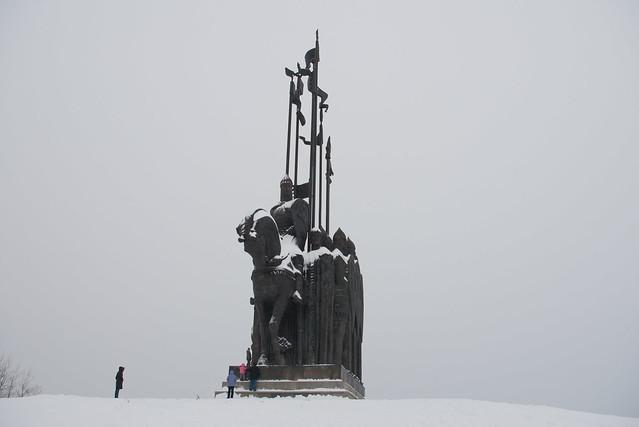Памятник Ледовому побоищу