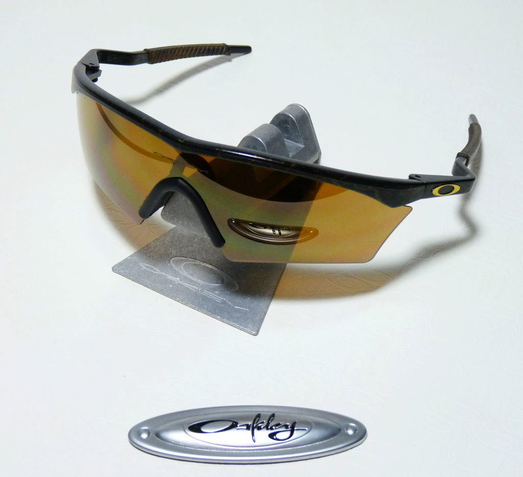 0964d9ea73 ... Oakley Gold Mine M-Frame w  Mumbo stems   Gold Iridium V-lens