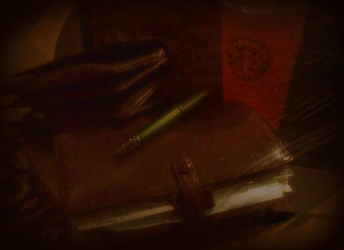 Filofax, pen, & Wallet