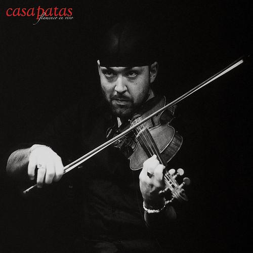 Fernando García Rico al violín. Foto: Martín Guerrero