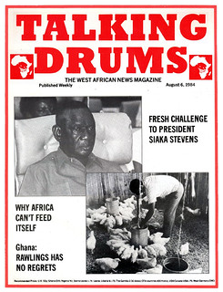 talking drums 1984-08-06 Challenge to Siaka Stevens - Rawlings has no regrets