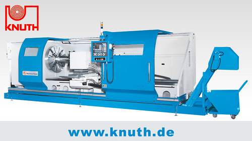 CNC Zyklendrehmaschine KNUTH Forcturn XL