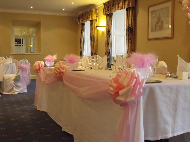 Wedding Decorations Arnos Manor Hotel Bristol
