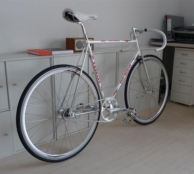 Merckx Cromor Pista - Pearl White - SOLD
