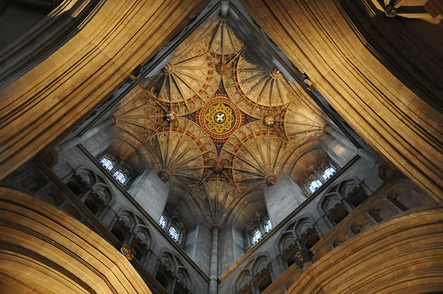 Canterbury cathedral roof