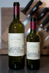 Big and small bottle of 2006 Villa Antinori Toscana (I.G.T.)