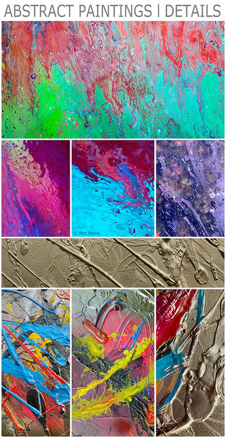 Abstract Paintings - Details