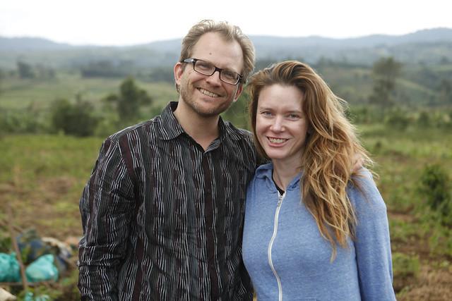 Matt Petersen and Justine Musk