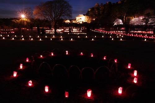 park festival pentax plum illumination mito 公園 梅 kairakuen 水戸 k7 偕楽園 2011 まつり 茨城 ibaragi イルミネーション ライトアップ ペンタックス 好文亭 koubuntei