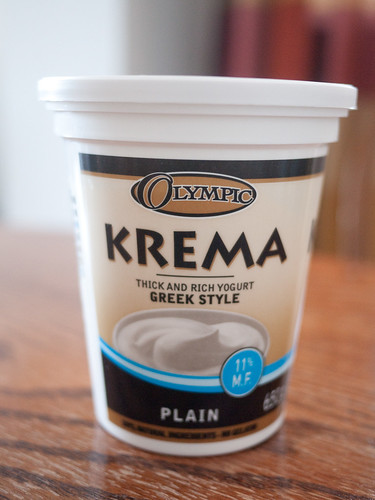 KREMA - thick and rich yogurt