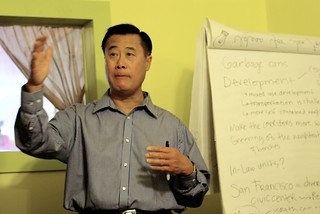 Leland Yee at a 20/20 Coffee