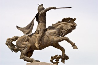 Εικόνα από Vardan Mamikonian. statue caucasus armenia statuary gyumri հայաստան գյումրի gyoumri