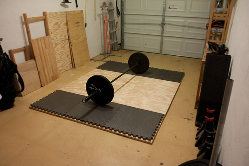 Building an olympic lifting platform « dinomite