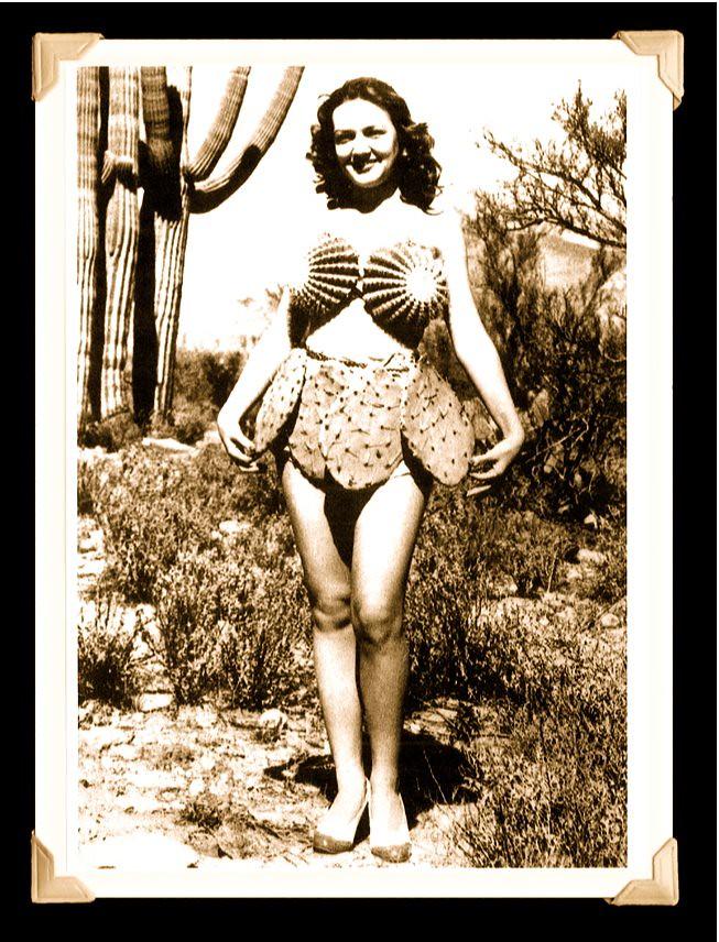 Cactus bikini!