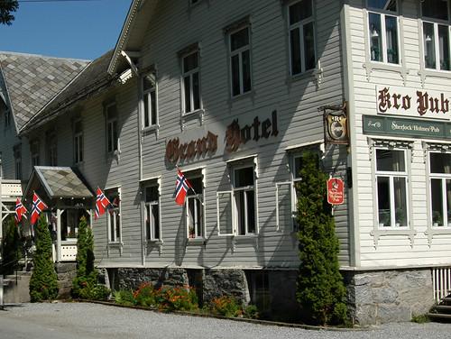 Geiranger, la ville et le fjord. 5526981182_c0e4f39501