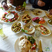 Typical Mezze at Lunch (First Course) - Jerash, Jordan
