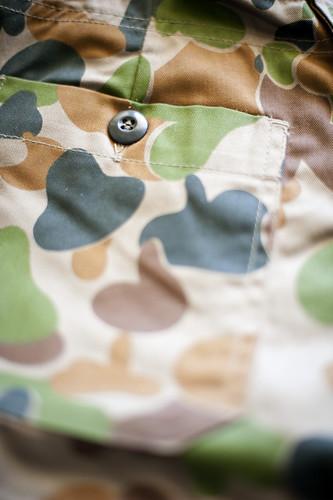 camouflage pocket
