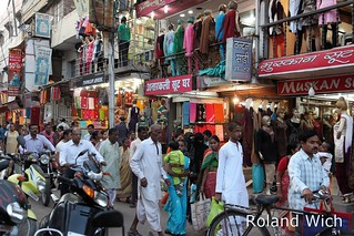 Varanasi - Shopping Street