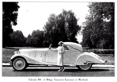 1935 Delage D8-15 Cabriolet by Letourneur et Marchand