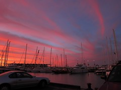 Sunset in the City of Sails. I didn't do anything ot…