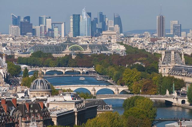 France - Paris - Along the Seine
