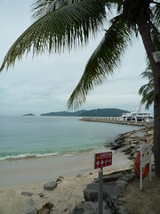 Small Beach at Pacific Sutera