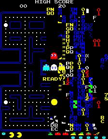 Pacman's Kill Screen